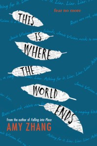 This Is Where The World Ends by Amy Zhang is one of those read in a single day kind of books that will have you feeling emotions