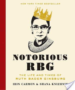 Notorious RBG: The Life and Times of Ruth Bader Ginsburg by  Irin Carmon & Shana Knizhnik | Book Review