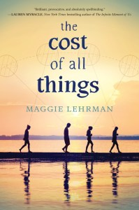 The Cost Of All Things by Maggie Lehrman is a blend of contemporary with some magical elements. Click here for my full review of the audiobook.