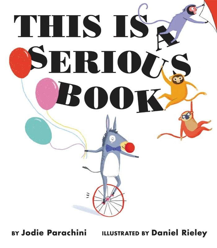This Is A Serious Book by Jodie Parachini | Picture Book Review
