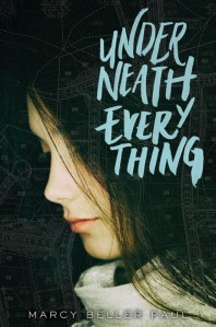 Marcy Beller Paul's debut book Underneath Everything is about a teen girl named Mattie who decides she doesn't want to be on the fringe anymore, she wants her old life back. Click for my full review of this book about toxic friendship.