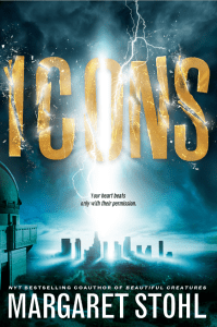 Icons by Margaret Stohl had appeal based on my enjoyment of Beautiful Creatures. It has a science fiction vibe and did not live up to expectations.