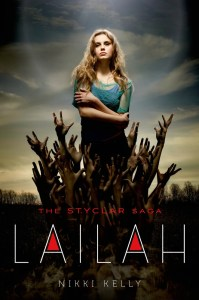 Lailah by Nikki Kelly is the first book of the Styclar Saga featuring vampires, angels and a love triangle. I would not recommend. Click here to find out why.