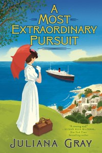 A Most Extraordinary Pursuit and A Strange Scottish Shore by Juliana Gray make interesting audiobooks to listen to if you're here for historical romance.
