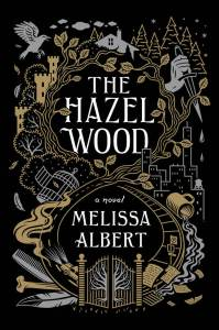The Hazel Wood by Melissa Albert has the most deliciously dark intricate cover. It is a dark take on fairy tales. Click here for my full review of the audiobook.