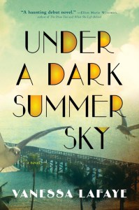 I think for sure Under A Dark Summer Sky by Vanessa Lafayeis an under the radar audiobook you need to read - especially those of you who like historical fiction about weather with intersectional elements.