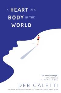 I am still reeling at A Heart In A Body In The World by Deb Caletti and how much it made me think AND feel. If you want an excellent read, click here.