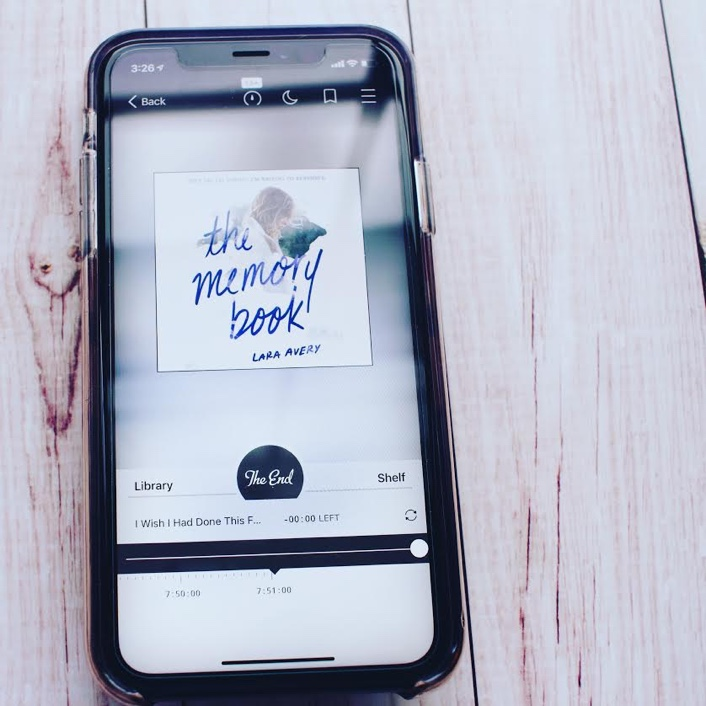 I must have readThe Memory Book by Lara Avery at exactly the right perfect time in my life. I mean, I would probably love it no matter what. However, I just connected SO hard with the audiobook.