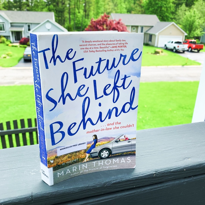 The Future She Left Behind by Marin Thomas really scratched an itch for me. I am kind of at the point where I just want to read nothing but contemporary fiction this summer. And so, this book totally fits the bill.