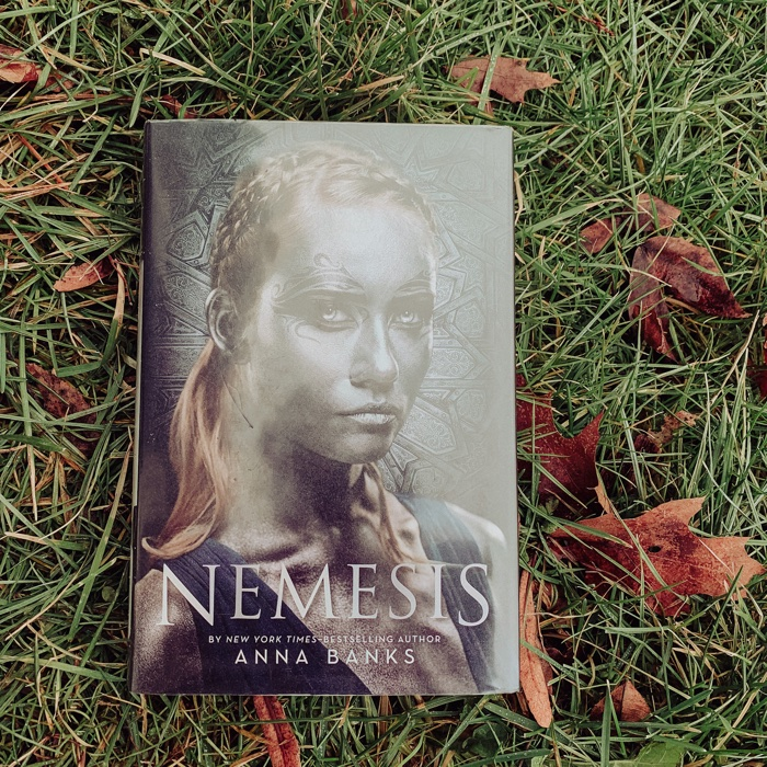 I am so pleasantly surprised by how much I liked Nemesis by Anna Banks.