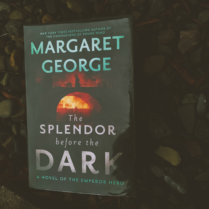 The Splendor Before The Dark essentially starts right when Rome is burning and continues until just past Nero's death.