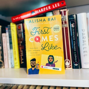 First Comes Like by Alisha Rai was an absolute priority to listen to and I completely enjoyed listening to this story of fake dating.