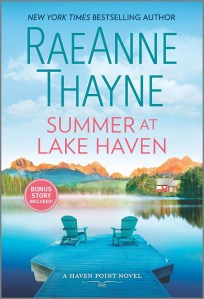 So, when I sawSummer At Lake Havenby RaeAnne Thayne was coming up and I guess wrapping the series, I was so excited for it.
