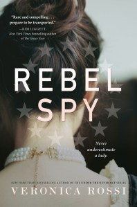I thought thatRebel Spy was a pretty good read. I loved the historical detail and the fact that you could really feel the tension in the air in New York.