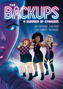 The Backups by Alex de Campi is definitely a graphic novel worth picking up for the music loving reader, a fun read. Find out why here.