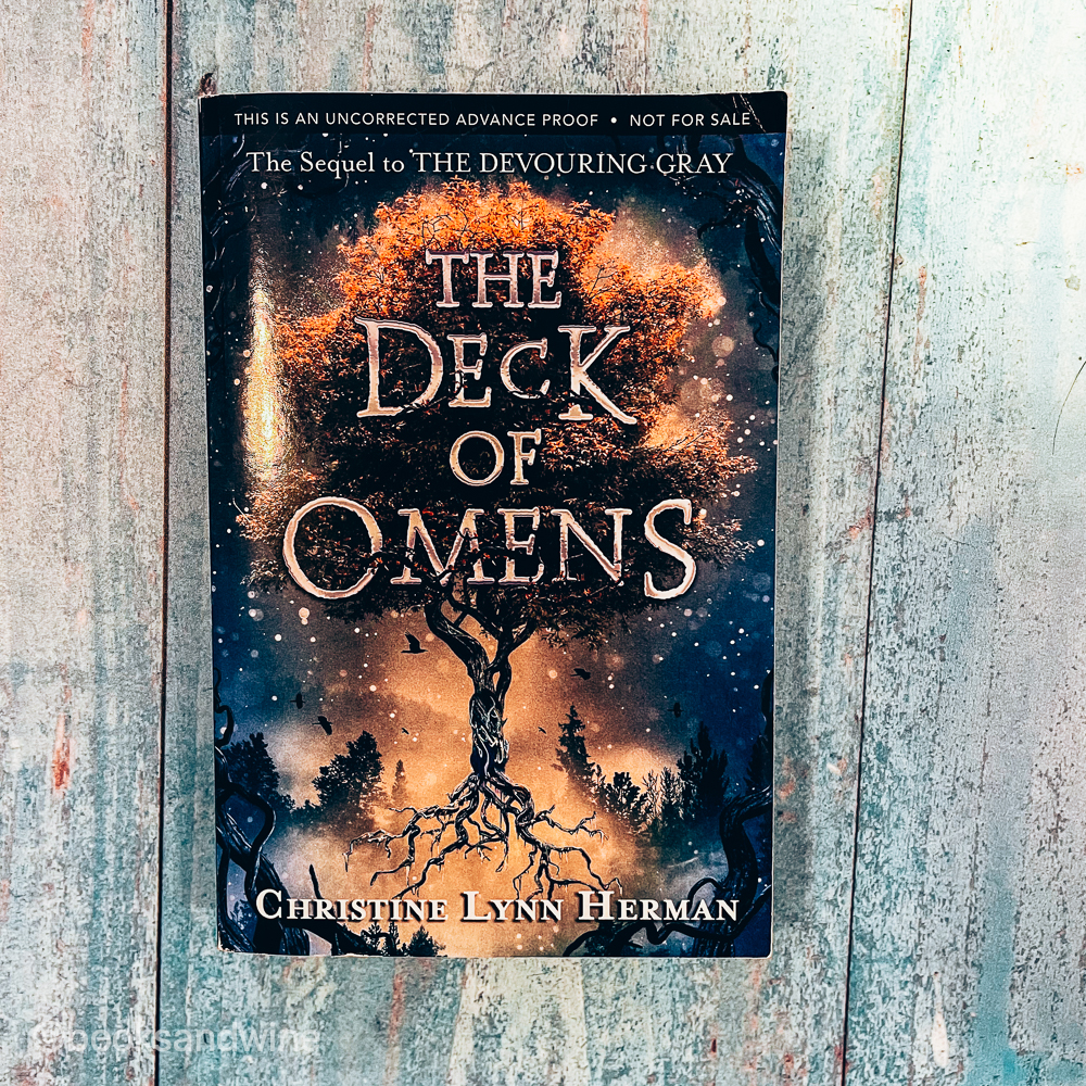 The Deck Of Omens by Christine Lynn Herman   Book Review
