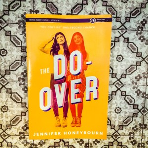 I had randomly pickedThe Do-Over by Jennifer Honeybourn to read off my TBR cart because it was short and I quite liked the bright cover.