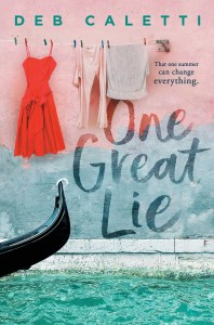 One Great Lie by Deb Caletti is about a girl who is taken advantage of by a powerful writer as well as how this has happened previously.
