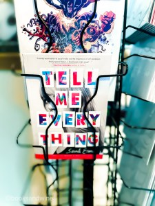 Tell Me Everything follows Ivy, a teenage girl who wears black everyday, only has one friend, and is really into photography.