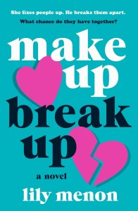 Make Up Break Up by Lily Menon hit my radar because as you know Lily Menon is Sandhya Menon. So, this book is her debut into adult contemporary romance.