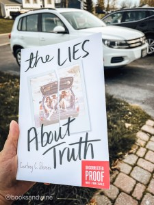 I enjoyedThe Lies About Truth so much more thanFaking Normal. This is a book that I read in the span of twenty four hours. I could not set it down. Stevens weaves this story of teenagers who have really been through it and who are still growing.