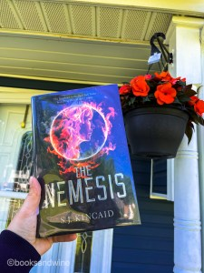 The Nemesis is the final book in SJ Kincaid'sDiabolic series and what a closer it is - brutal, action packed and thoughtful.