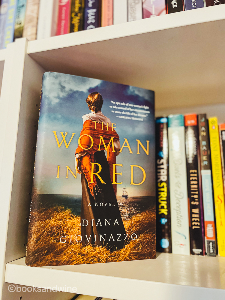 The Woman In Red by Diana Giovinazzo | Book Review