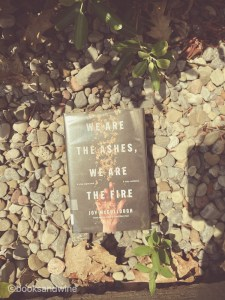 We Are The Ashes, We Are The Fire by Joy McCullough is a force to be reckoned with. This contemporary YA book hit me right in the soul.
