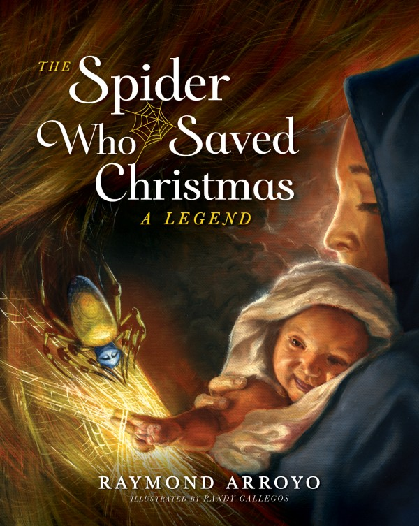 the spider who saved christmas cover