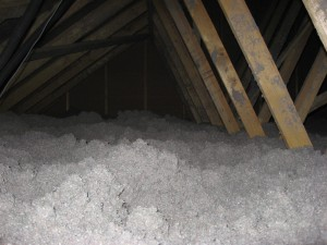 Isolation ouate de cellulose plafond