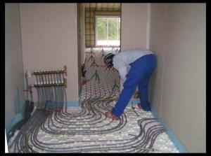 chauffage par le sol fonctionnement. Black Bedroom Furniture Sets. Home Design Ideas