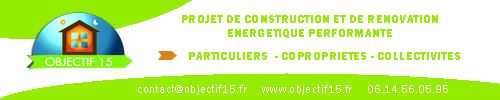 Objectif 15 - construction - rénovation