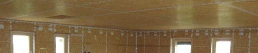etancheite plafond maison passive