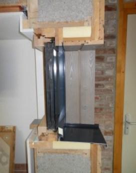 traitement pont thermique huisserie maison passive