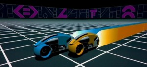 Tron movie image Light Cycles