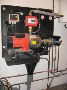 Récupérateur d'eaux de pluie maison passive