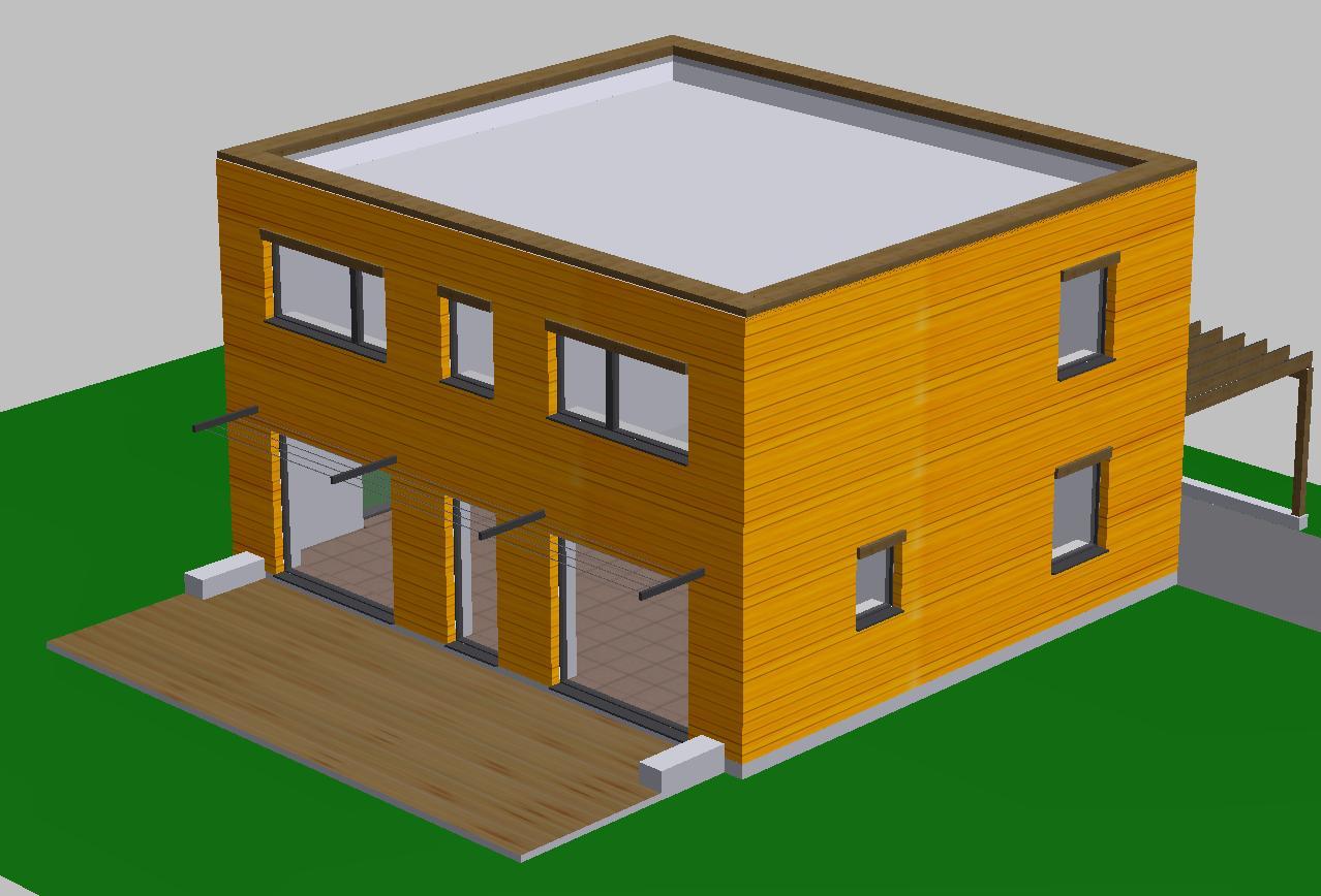 Histoire de notre maison passive le permis de construire for Combien consomme une maison en kwh