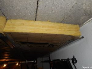 isolation plafond garage dans l'eure