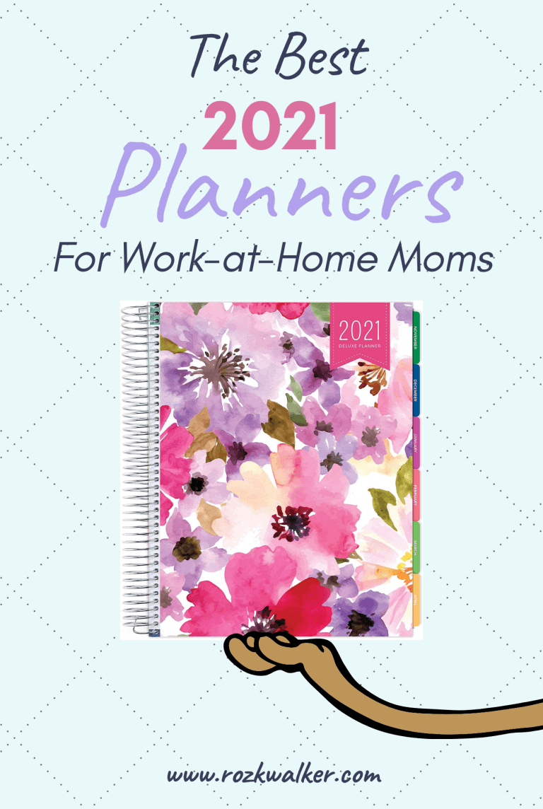 The Best Planners For Work At Home Moms 2021