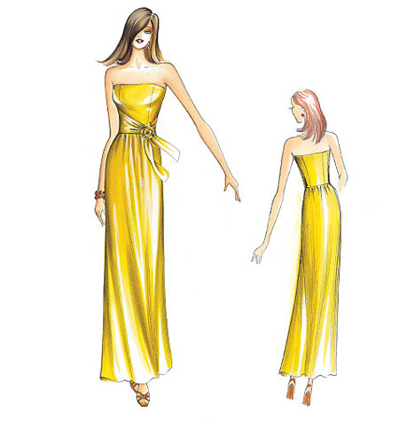 Goodbye Valentino | I must make an evening gown