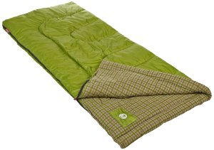 coleman green valley sleeping bag review