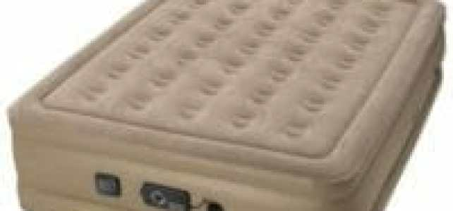 Insta-Bed Raised Queen Air Mattress Review – W/ Never Flat Pump