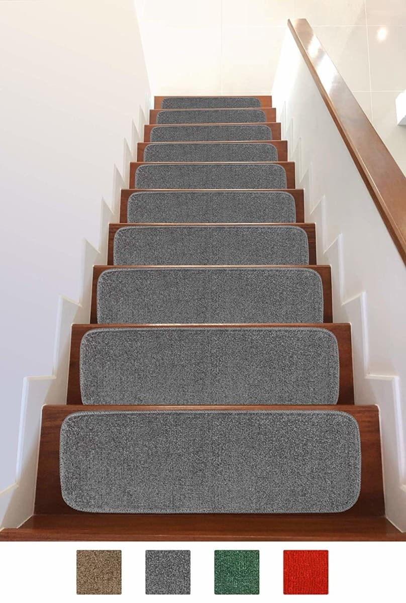 Add Different And Elegant Touch To Your House A Carpet Stair   Durable Carpet For Stairs   High Traffic   Flower Design   Low Pile   Masland   Stair Treads