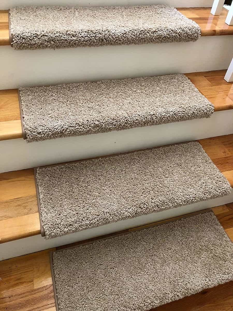 Add Different And Elegant Touch To Your House A Carpet Stair   Carpet In Middle Of Stairs   Exposed Tread   Hardwood   Wood   Victorian   Popular