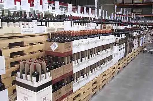 Costco Wine Department