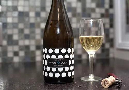 image of bottle of Albarino