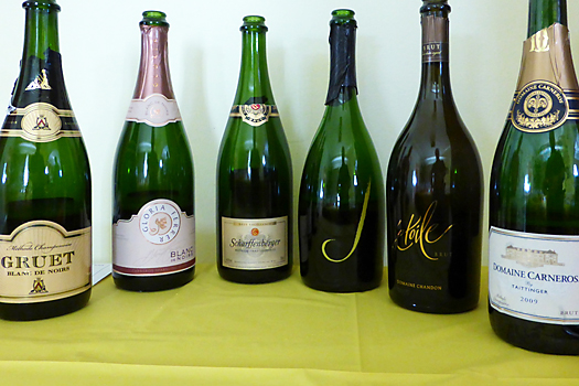 image of sparkling wines