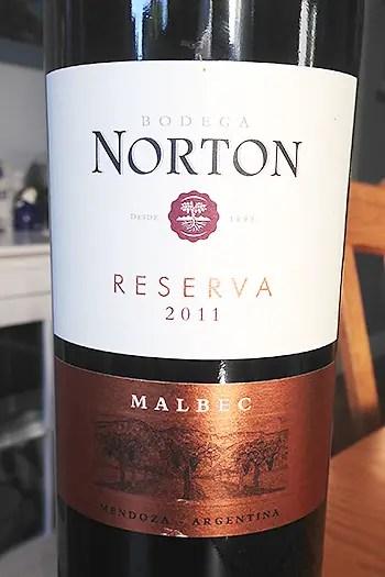 Norton Reserva 2011