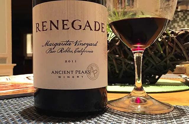 Renegade wine
