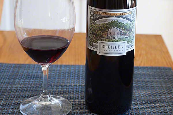 The 2013 Buehler Napa Valley Cabernet